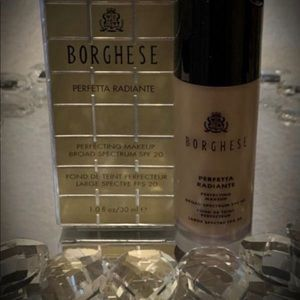 BORGHESE Foundation CAFFE 05 Makeup SPF 20 NEW